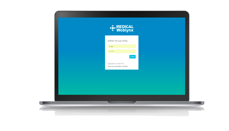 Weblynx - Medical tela desktop